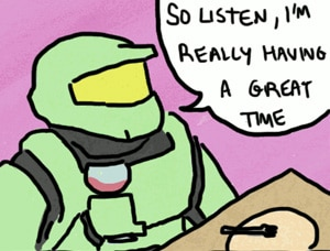 Master Chief Goes on a Date