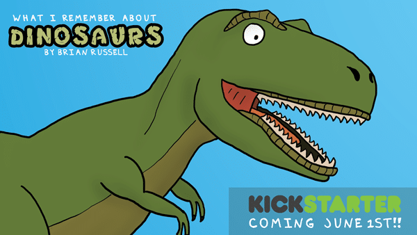 Dinosaur Kickstarter Launch Day is set!
