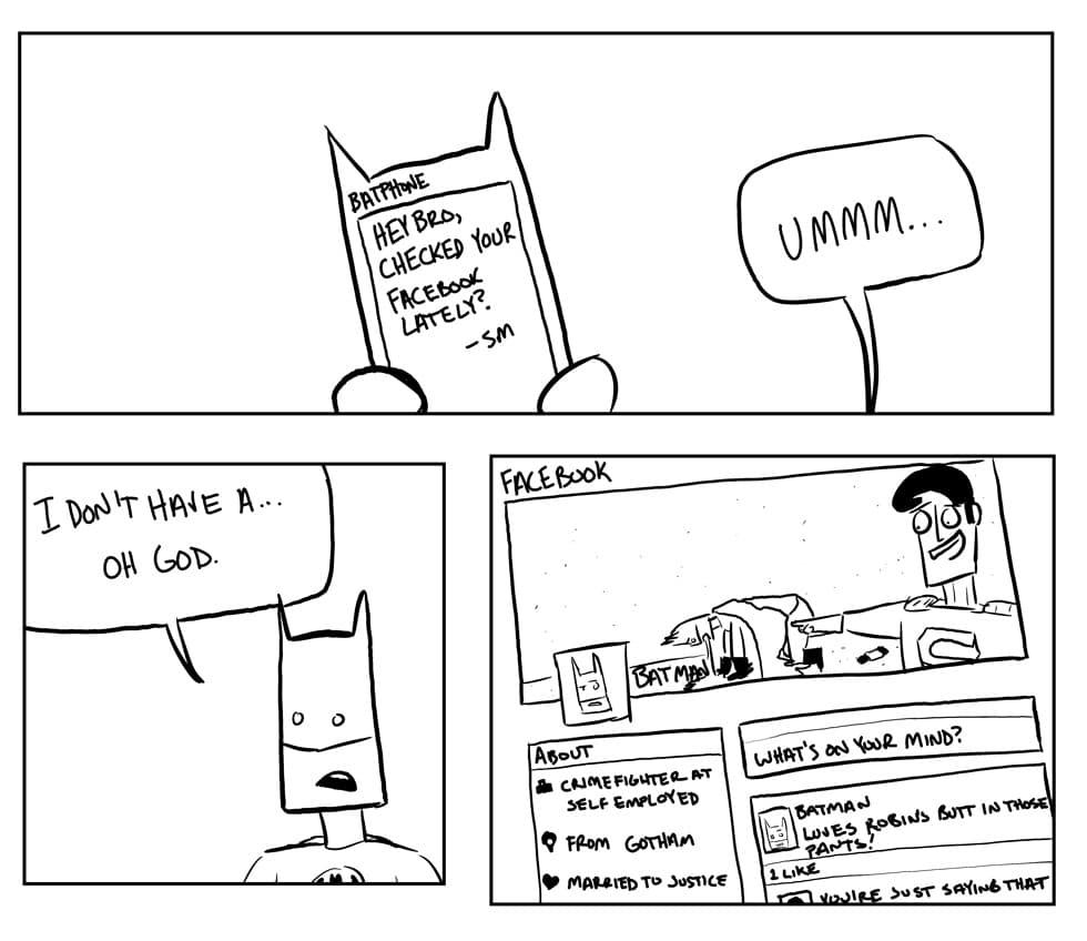 batman-facebook