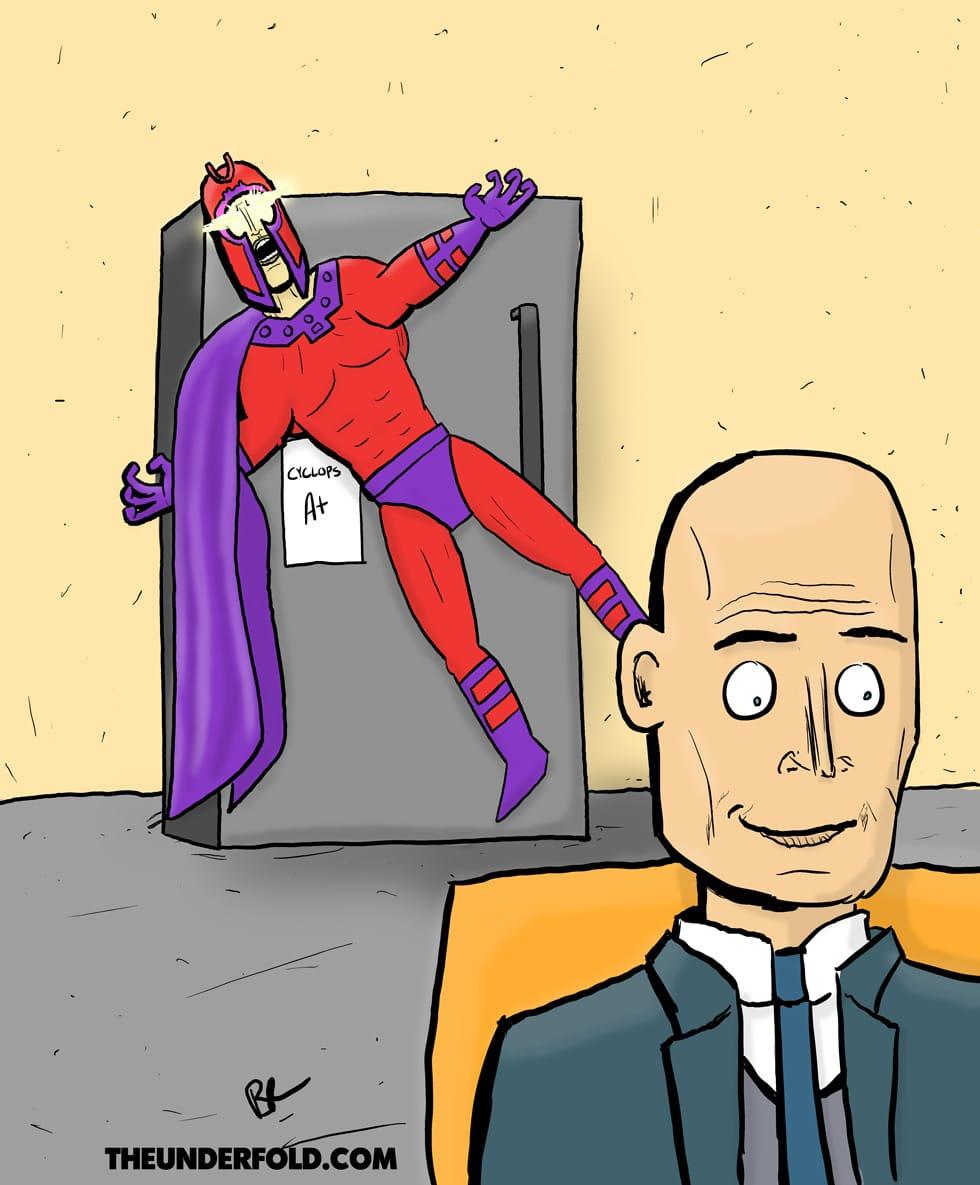 Xavier-Fridge-Magneto