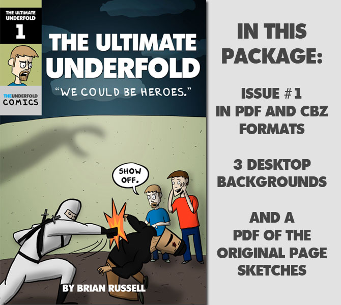 The Ultimate Underfold Issue #1 (Collector's Edition)