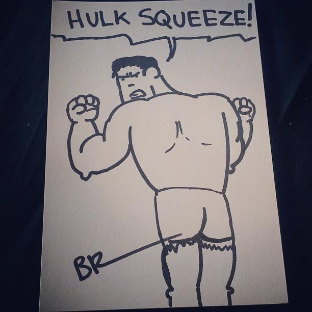 hulk-squeeze-sketch