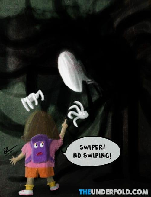 Dora the Explorer Vs. Slender Man