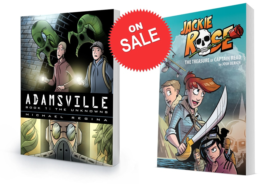 Adamsville Book 1 and Jackie Rose Book 1 On Sale
