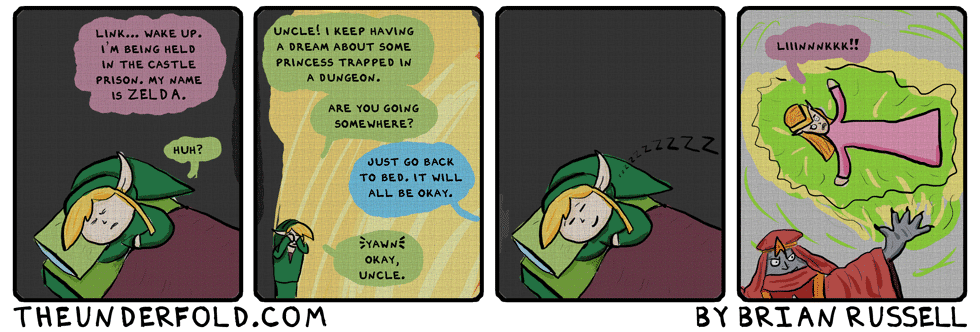 link to the past comic pdf