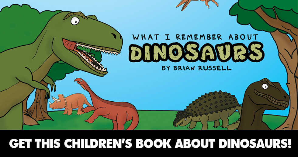 What I Remember About Dinosaurs Only $0.99 On Kindle!