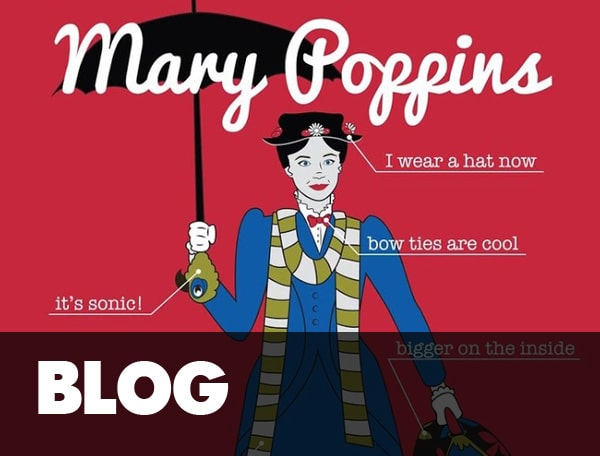 Mary Poppins Is A Time Lord