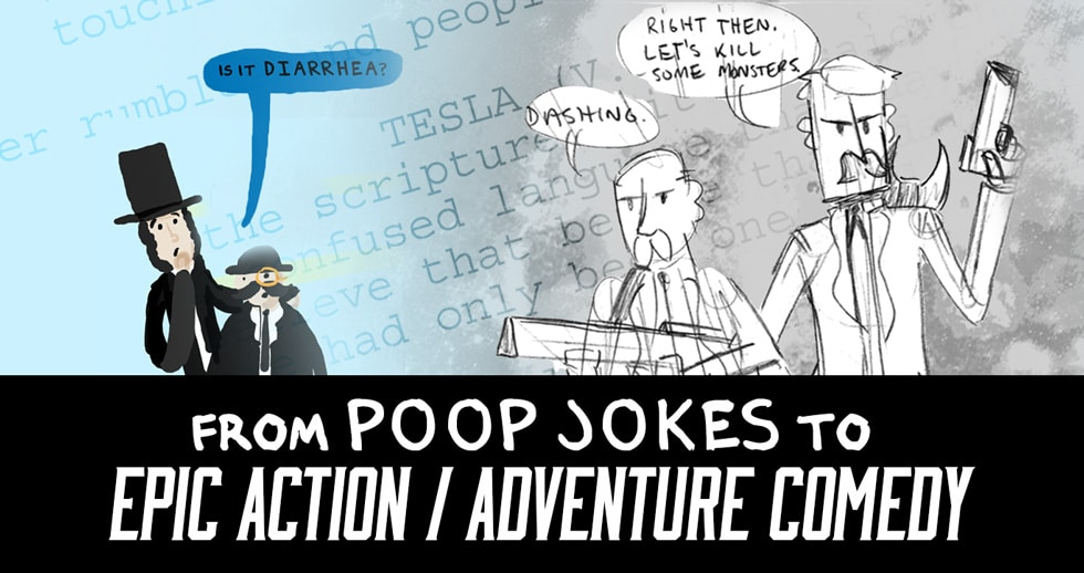 From Poop Jokes To Epic Action/Adventure Comedy