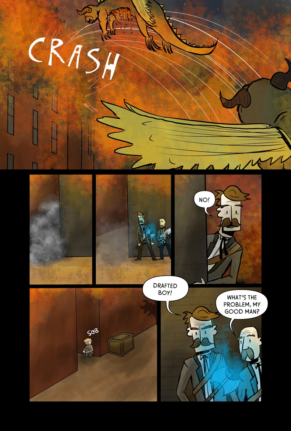 Page 21 – The Alley