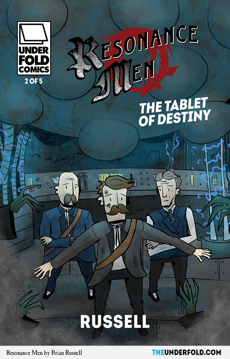 Tablet Of Destiny #2 – Cover