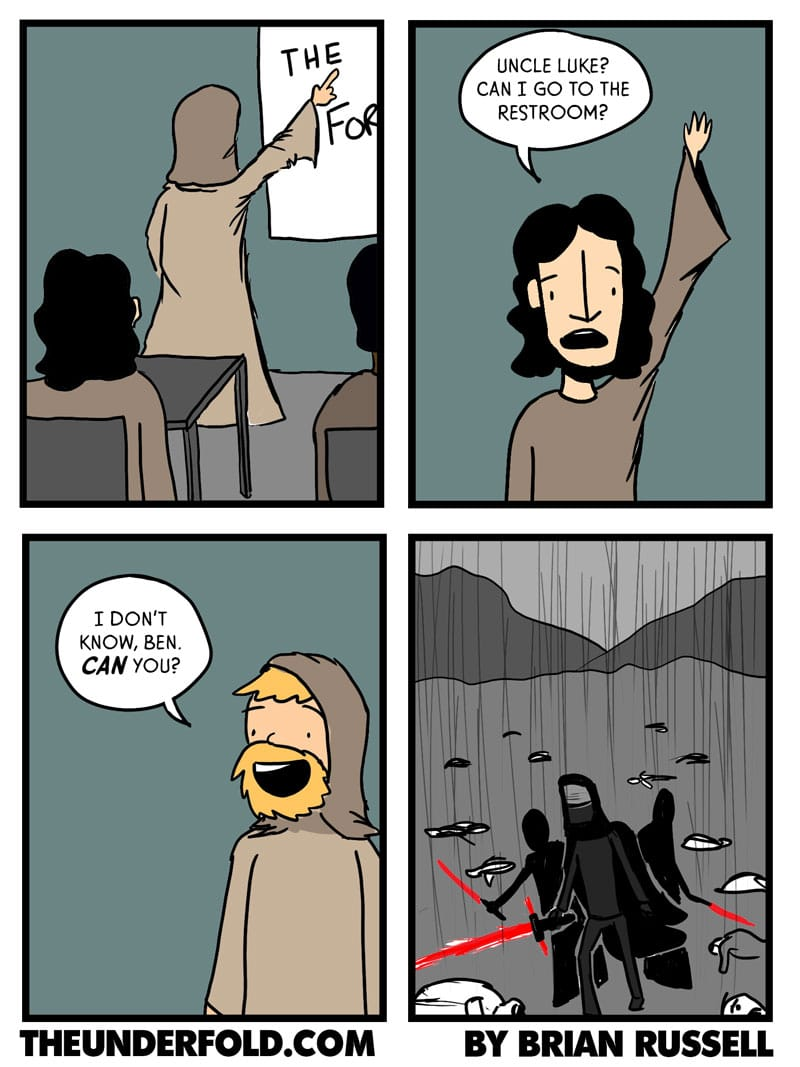 The Real Reason Ben Solo Went To The Dark Side