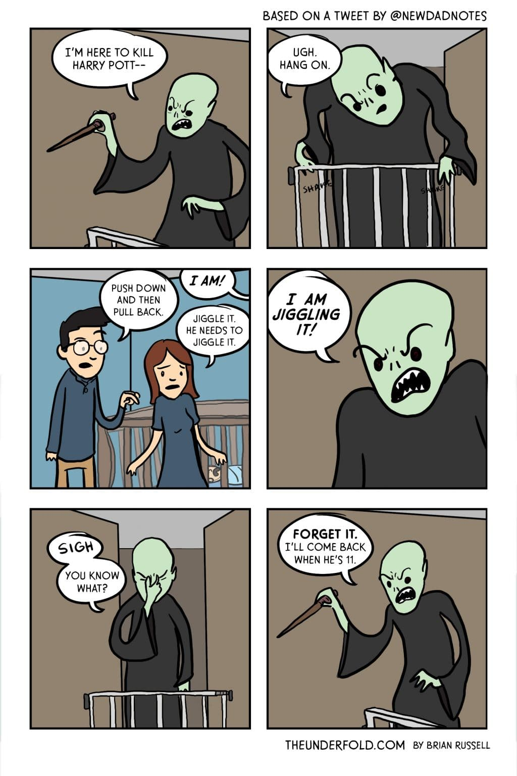 Voldemort Kills Harry Potter's Parents